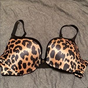 Victoria's Secret Sexy Leopard Push-up Bra